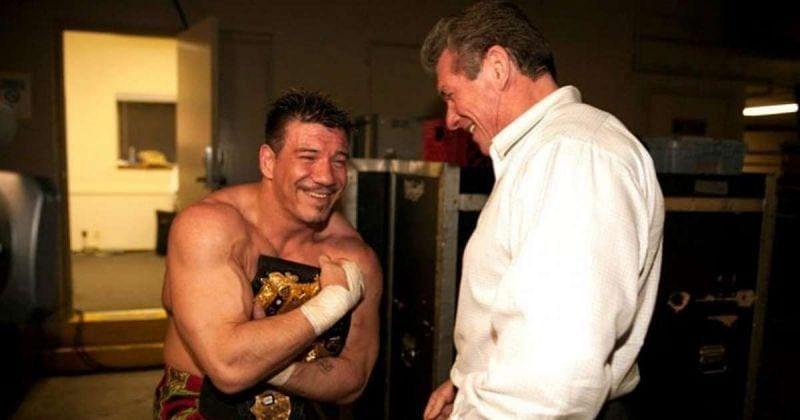 Eddie Guerrero and Vince McMahon