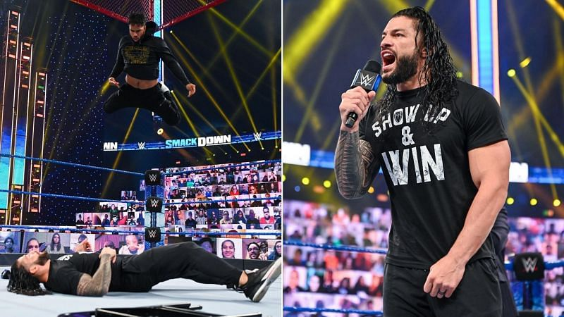 Roman Reigns faces Jey Uso at WWE Hell In A Cell