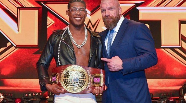 Triple H and Velveteen Dream