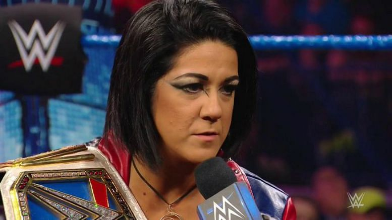 Bayley has gone through a character transformation in the last year in WWE