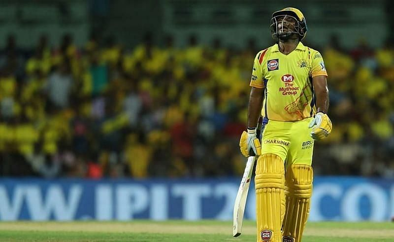 The Chennai Super Kings batsmen did not hit a single six in the first 15 overs of their run chase