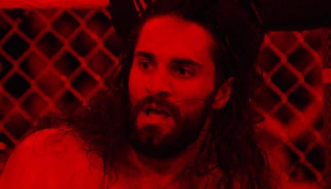 Seth Rollins opened up about what it was like wrestling in red lighting at last year