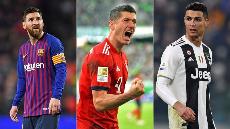 Cristiano Ronaldo and Lionel Messi lead the all-time goalscoring charts in the Champions League