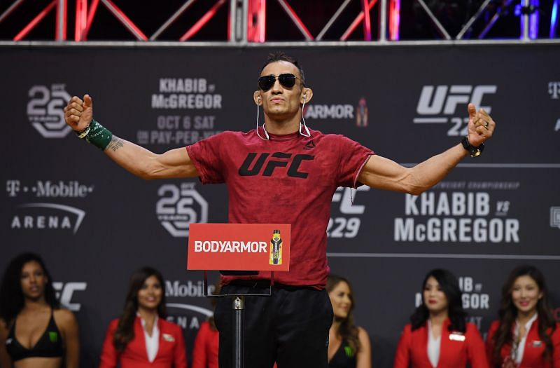 Former UFC interim lightweight champion Tony Ferguson
