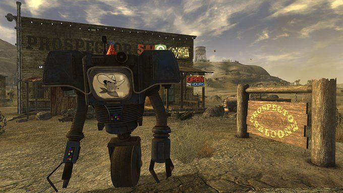 Fallout: New Vegas was released in 2010 for PC, PS3 and Xbox 360 (Image Credit: Fallout/Twitter)