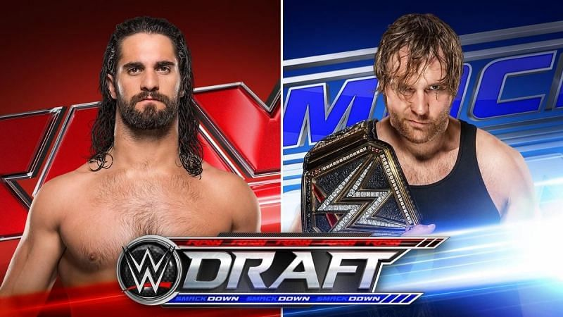Seth Rollins and Dean Ambrose appeared in the 2016 Draft