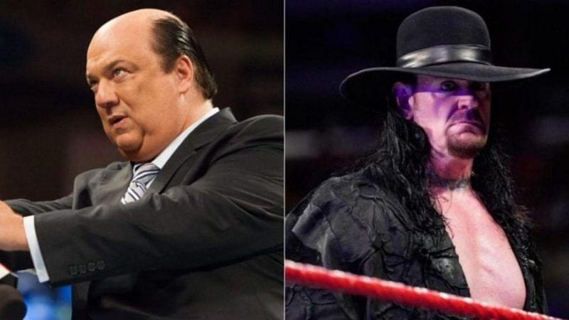 Paul Heyman and The Undertaker