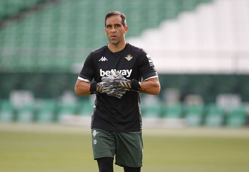 Claudio Bravo is back for this match