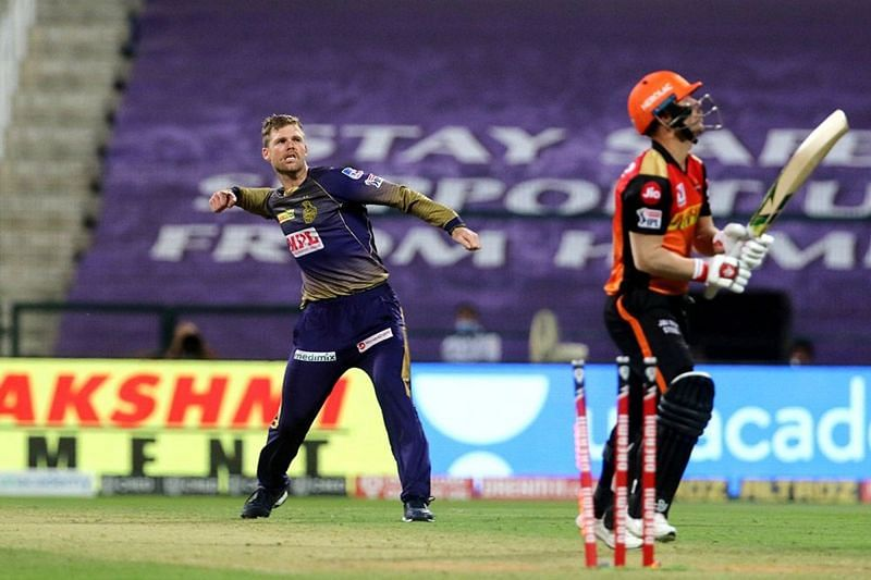 Lockie Ferguson impressed the fans with his excellent bowling performance against SRH in IPL 2020 (Image Credits: IPLT20.com)