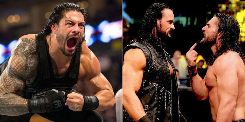 WWE सुपरस्टार सैथ रॉलिंस और रोमन रेंस