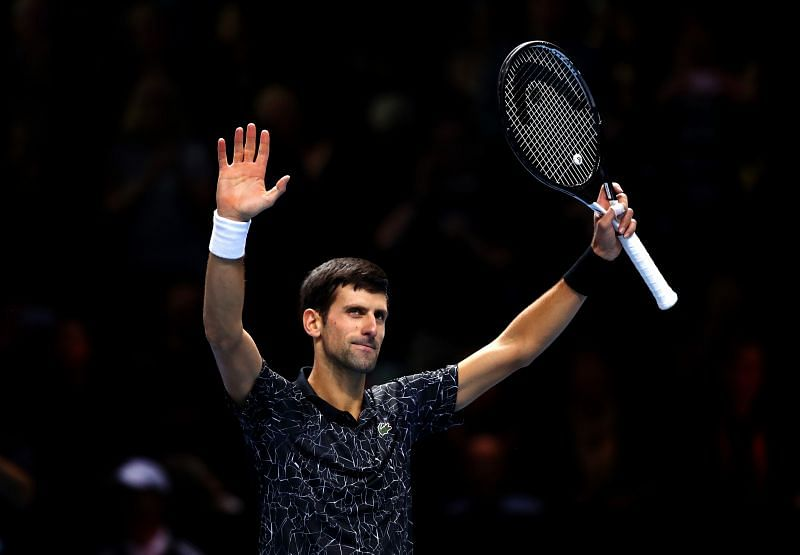 Novak Djokovic is the top seed
