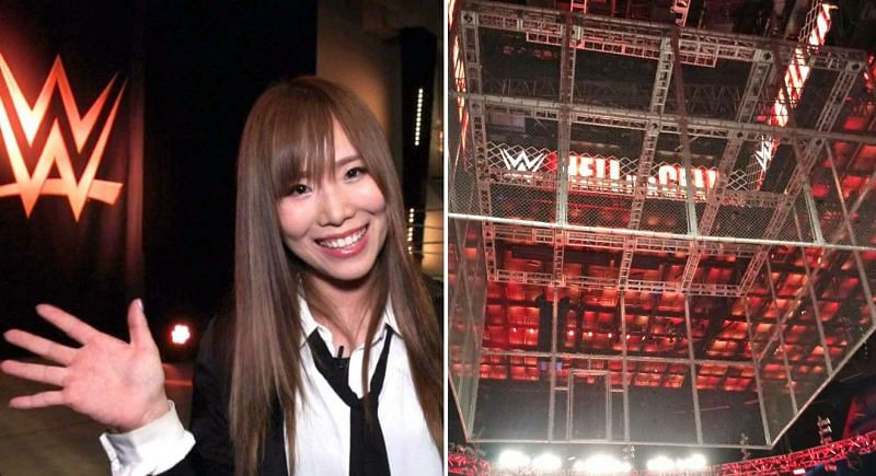 Kairi Sane will provide guest commentary for Hell In A Cell