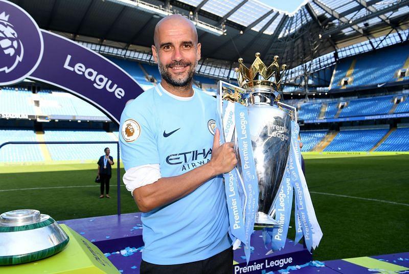 Pep Guardiola has won domestic honours aplenty at Manchester City