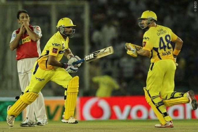 Mike Hussey bagged the Man of the Match award, having scored 86 off 54 balls. (Image Credits: IPLT20.com)