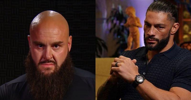 Braun Strowman and Roman Reigns.