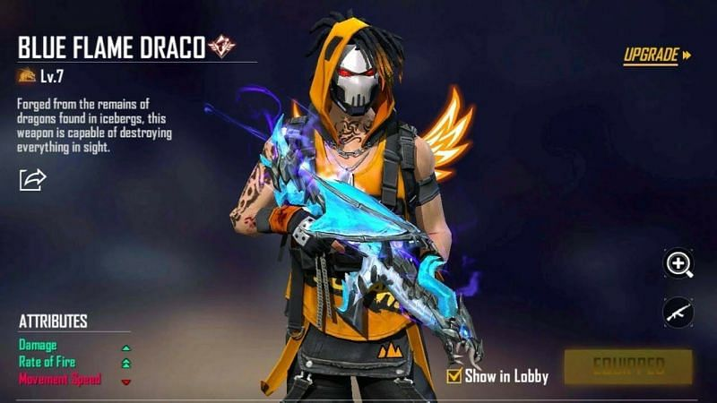 Legendary Ak47 Skin And Draco S Emote In Free Fire All You Need To Know