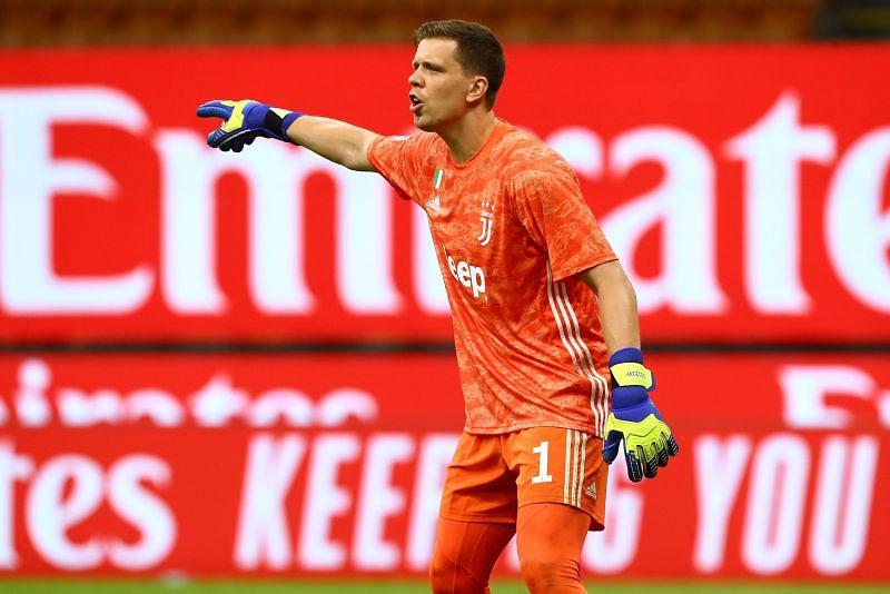 Juventus goalkeeper Wojciech Szczęsny