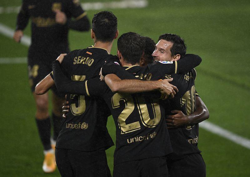 Barcelona were a resurgent force against Celta Vigo