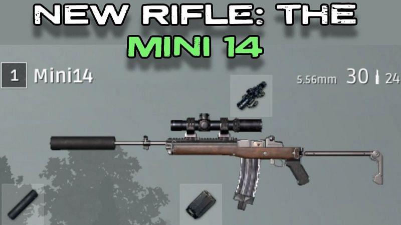 Mini14 vs SKS in PUBG Mobile (Image via ThesaurusPG YT)