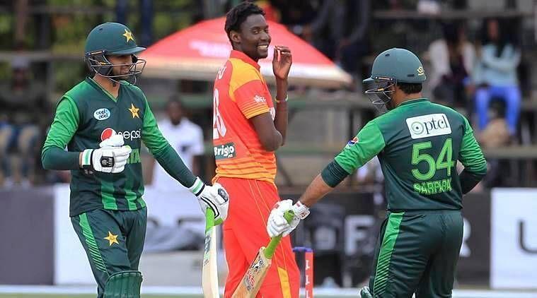 Pakistan whitewashed Zimbabwe 5-0 away in the ODI series in 2018.