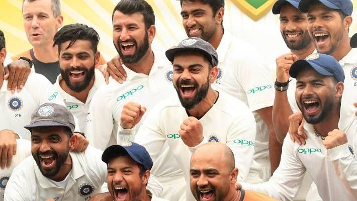 भारतीय टीम ने पिछले ऑस्ट्रलियाई दौरे पर टेस्ट सीरीज जीतकर इतिहास रचा था