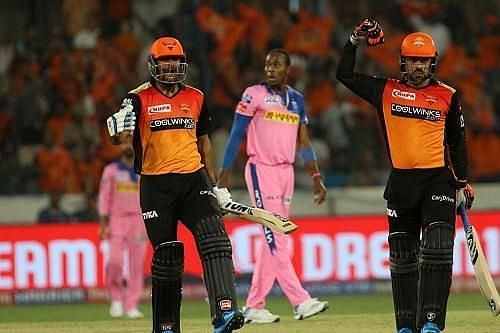Rajasthan Royals vs Sunrisers Hyderabad. Pic: IPLT20.COM