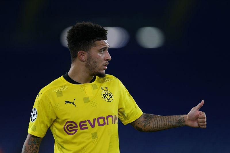 Jadon Sancho has scored just once for Borussia Dortmund so far this season