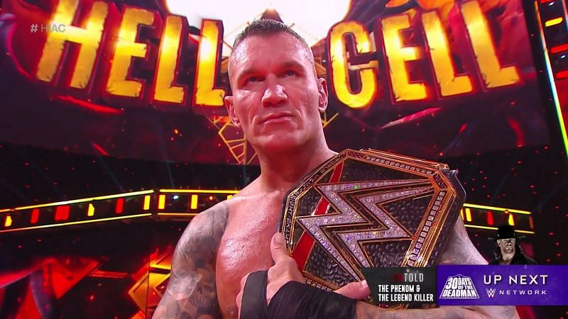 Randy Orton becomes a 14-time WWE Champion at Hell in a Cell
