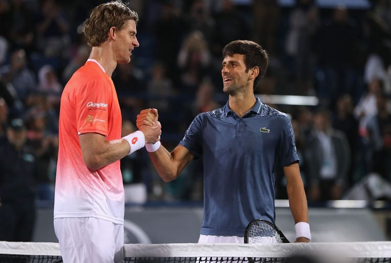 Novak Djokovic and Kevin Anderson once played together as a doubles team