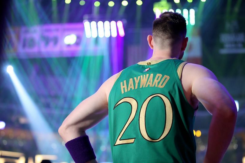 Gordon Hayward could move in the off-season.