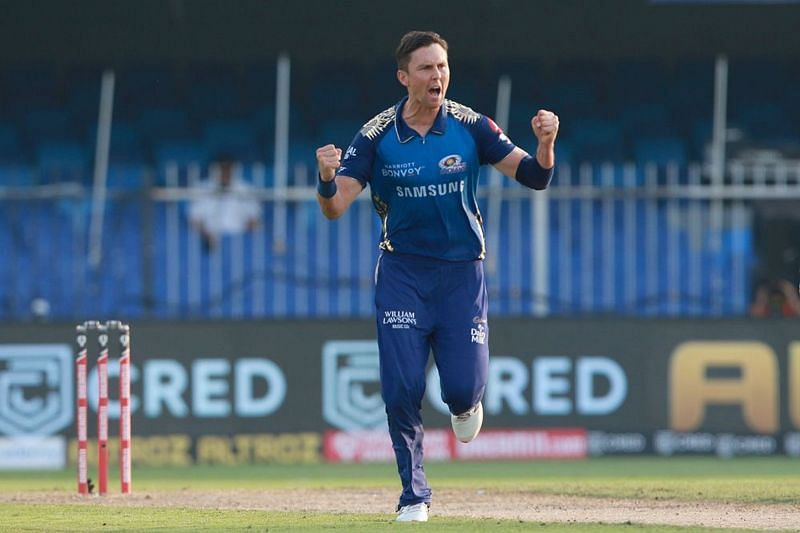Virender Sehwag picked Trent Boult as the star performer for MI with the ball [P/C: iplt20.com]