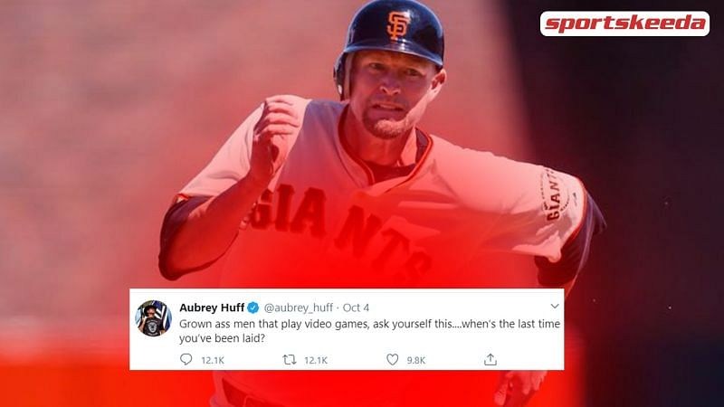 Former MLB star Aubrey Huff was recently called out for taking a jibe at gamers.