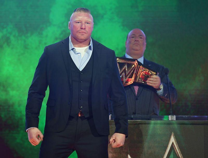 Former WWE champion Brock Lesnar