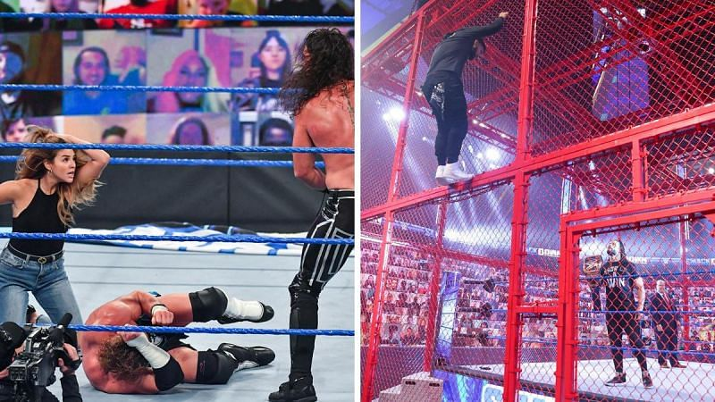 The final SmackDown before Hell in a Cell 2020