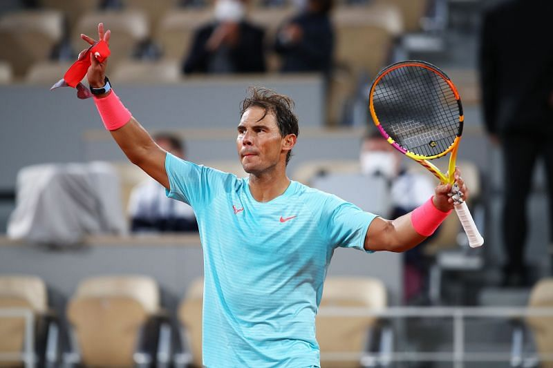 Rafael Nadal is known for his fighting spirit, something which Montsi says he is inspired by.