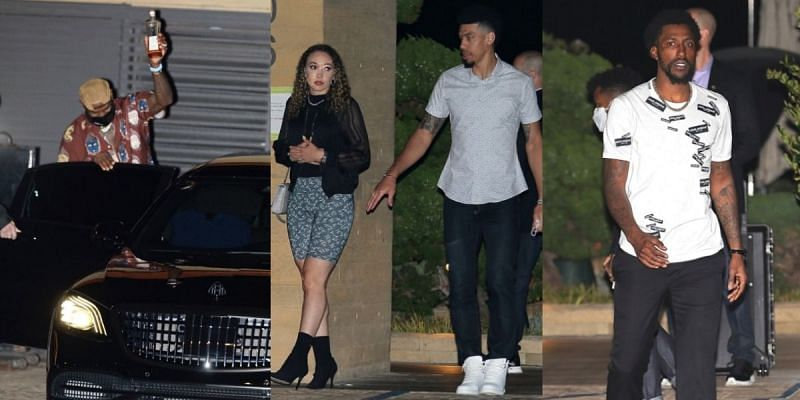 LA Lakers stars spotted partying in Malibu.