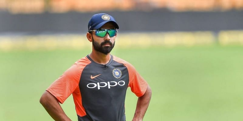 Ajinkya Rahane has no option but to wait for his turn to come. (Image Credits: Twitter)