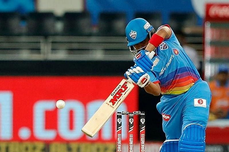 Prithvi Shaw threw away his wicket early in the Delhi Capitals innings [P/C: iplt20.com]