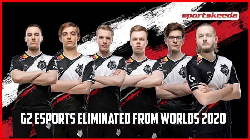 G2 Esports eliminated from League of Legends World Championships 2020
