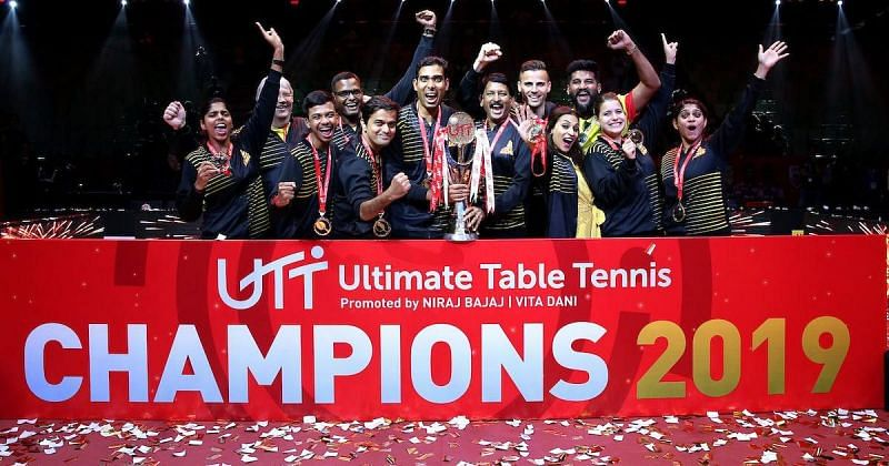 Chennai Lions are the defending champions of the Ultimate Table Tennis (UTT) Table Tennis - Harmeet Desai