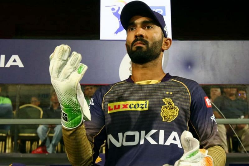Dinesh Karthik will look to lead from the front next game.