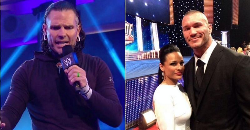 Jeff Hardy; Randy Orton and his wife