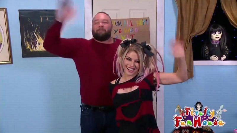 Alexa Bliss with Bray Wyatt