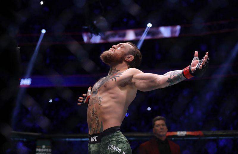 Conor McGregor of the UFC