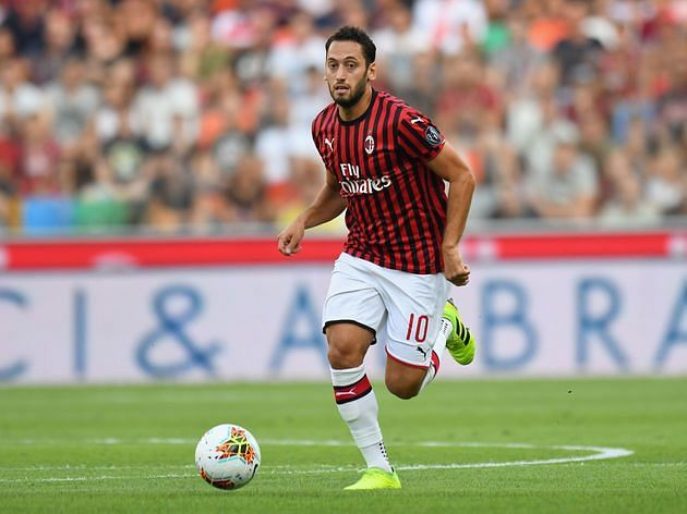 Hakan Calhanoglu made scoring from free-kicks a routine when he was in the Bundesliga.