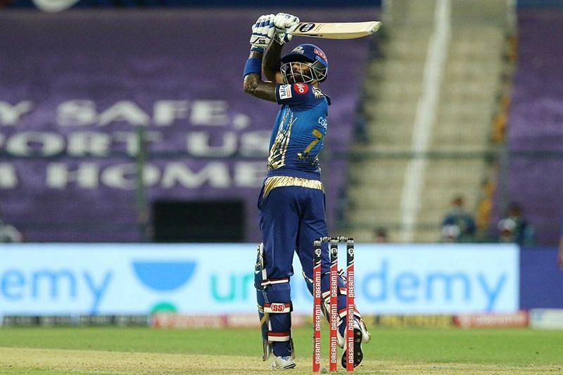 Suryakumar Yadav flicked Kagiso Rabada for a six during his enterprising knock [P/C: iplt20.com]