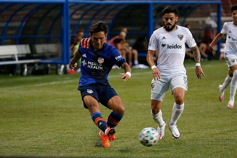 FC Cincinnati host Minnesota United in the MLS on Saturday
