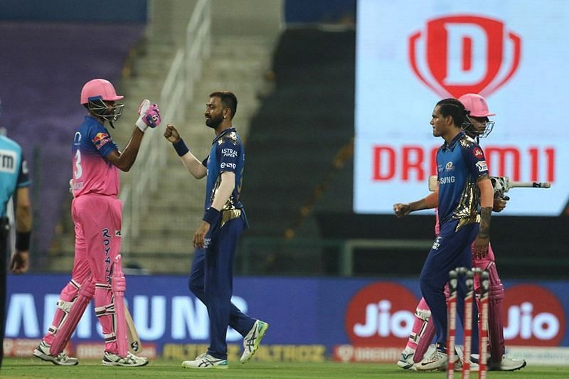 Mumbai Indians rocketed to the top of the IPL 2020 points table with a win over RR