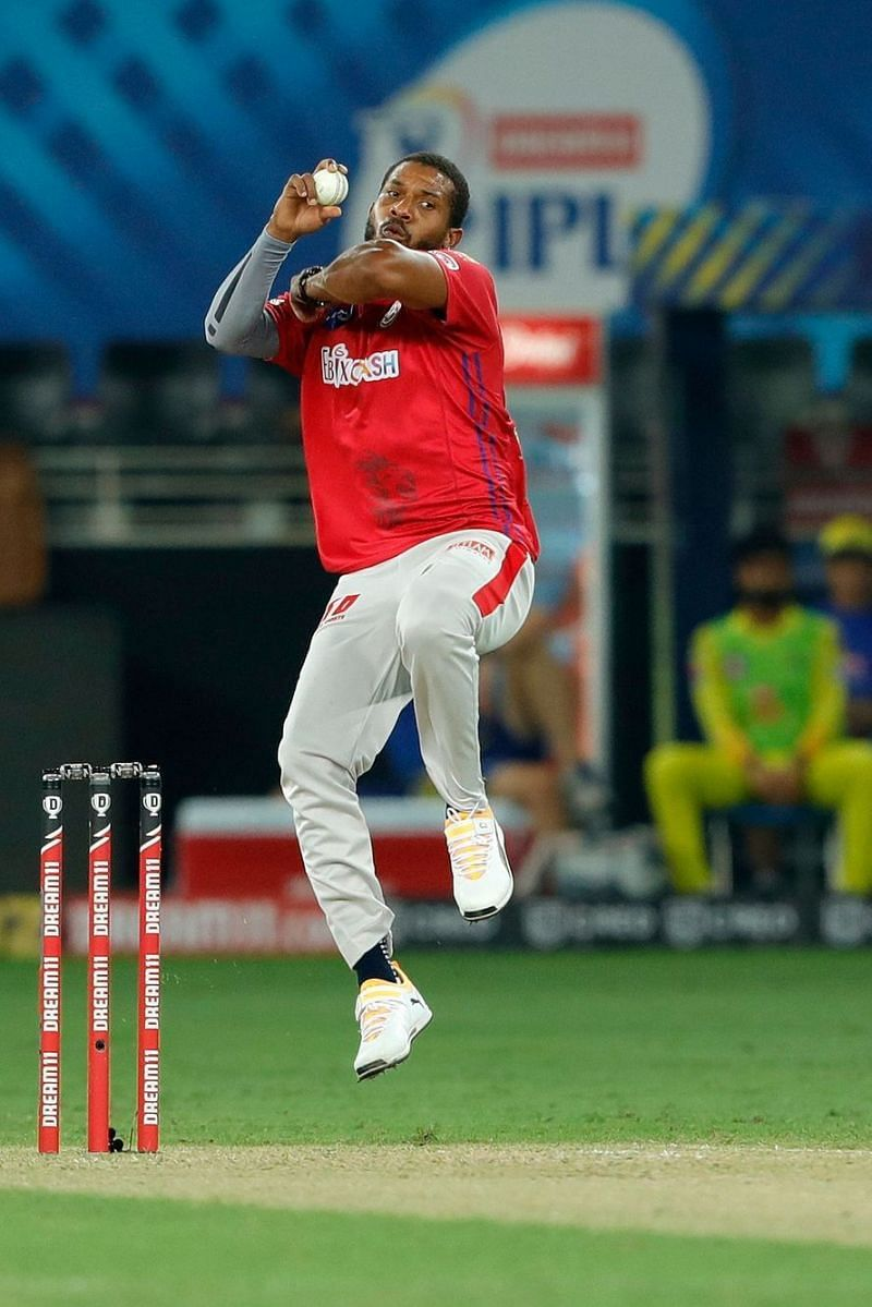 Chris Jordan was anything but restrictive during his three overs.