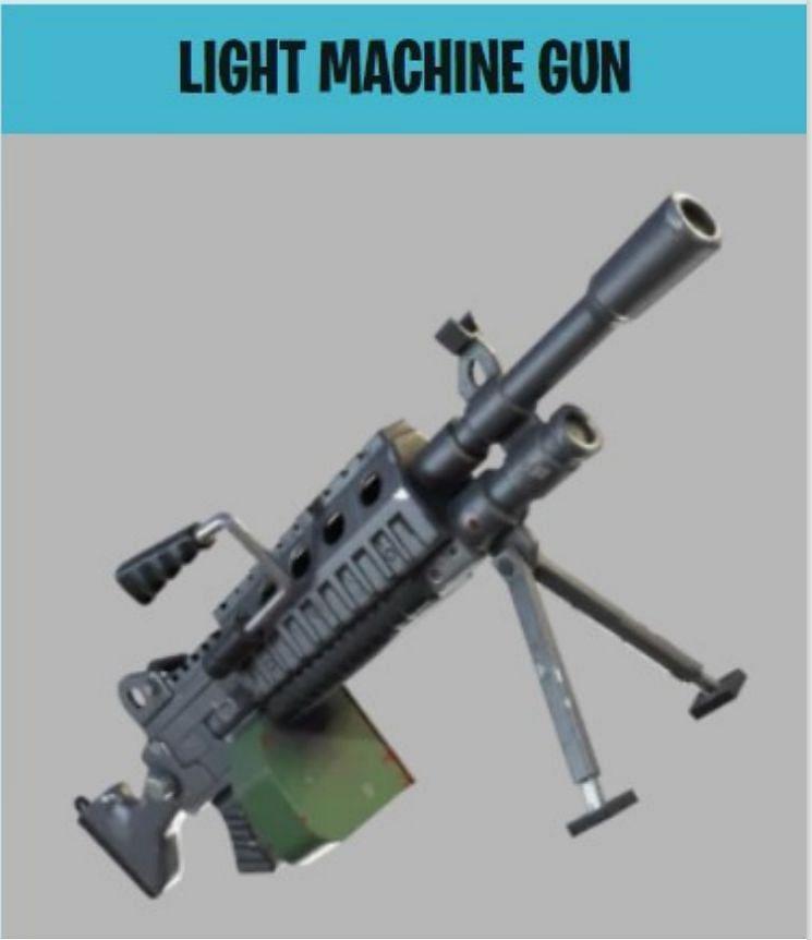 The Light Machine Gun (Image Credits: Epic Games)